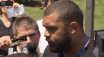 July 25, 2015- Check in day at training camp