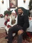 December 2013-Hangin' with Santa